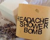 Headache Relief Shower Bomb - Aromatherapy - Spa Treatment