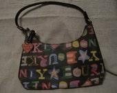 Dooney and Bourke Hobo Rainbow Signature Purse, Pocketbook