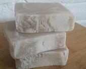 Coconut Cream Handmade Soap- 4 oz., cold process soap, coconut soap, soap