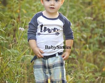 Second Birthday Shirt Arrow Hipster Birthday Shirt Two Birthday Baby Boy Birthday Two Girl Birthday Shirt Boy Shirt Two Arrow Shirt 160