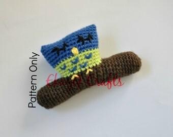 Crochet Pattern, Sleepy Owl Rattle