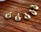 BRASS PENDANT/ brass bead/ tribal pendant/ jewelry making/ craft supplies