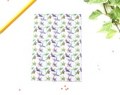 Origami Cranes Greetings Card, Blank, Any Occasion Card, Watercolour Design