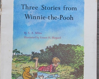 Three Storis from Winnie-the-Pooh by A.A.Milne