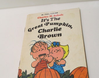 Vintage It's The Great Pumpkin Charlie Brown