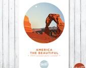 "2016 ""America, the Beautiful"" National Parks Wall Calendar///SALE"