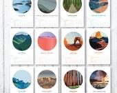 "2016 ""America, the Beautiful"" National Parks Mini Calendar"