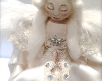 Christmas Tree Angel - Vintage Inspired