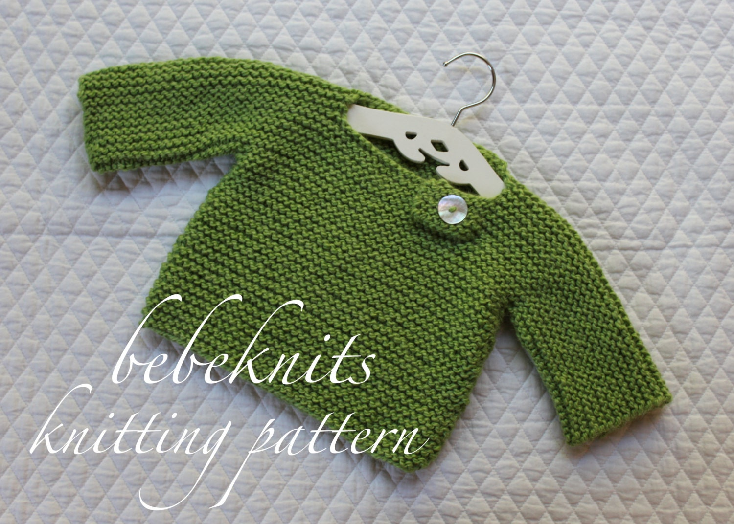 Bebeknits Simple French Style Buttoned Baby Pullover Knitting Pattern From Bebeknits On Etsy Studio