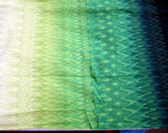 1 yard Hoffman California Fabrics Radiant Gradient N7510-304-PARROT premium cotton fabric - last piece