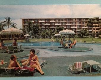 Kaanapali Beach Hotel 1970s Poolside