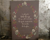 Condolence Card, Sympathy Card, Thinking of You Card - it will be the little things you remember