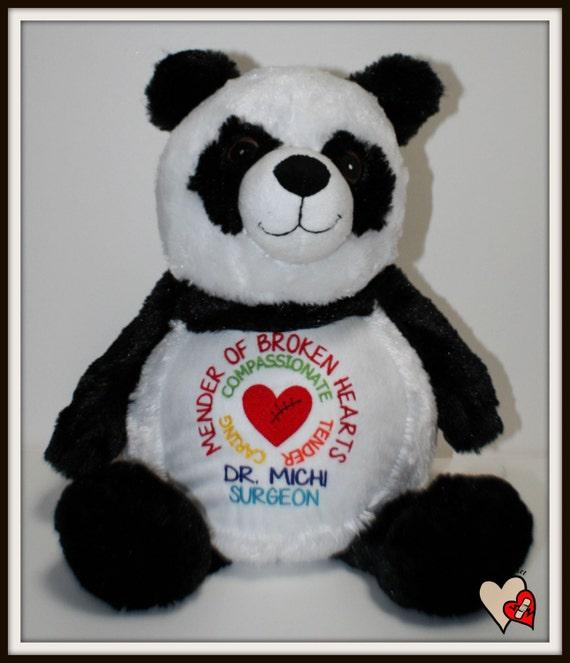 CHD, Mender of Broken Hearts,  Warrior Pet for your child's cardiac surgeon, stuffed animal