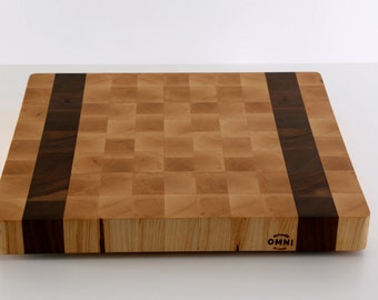 Small Size Maple End Grain Butcher Block Cutting Board-Introductory Price-Great for Small Kitchen Spaces