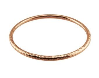 Hammered Copper Bangle Bracelet                          CC-30754