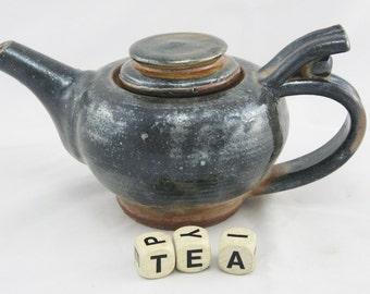 Small Gun Metal Teapot