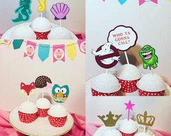 ADD ON* CUPCAKE Topper