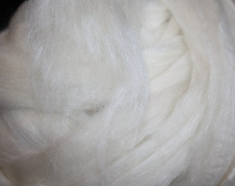 RawCo. 1 pound Merino Tussah Silk Luxurious Combed Top Roving