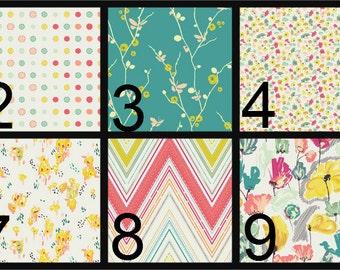 Crib Blanket, Crib Bedding, Crib Quilt, Baby Bedding, Reversible Baby Quilt, pink, yellow, teal