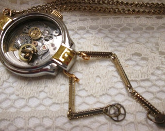 Watch Case Necklace Watch Parts Bee