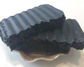 NEW Facial Bar Soap - Organic Coconut Charcoal Clay Facial Bar with Tea Tree Oil and Lavender (HL-FB1)