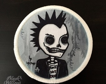 Punk Rocker Patch by Lupe Flores