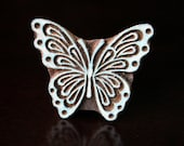 Textile Stamps, Pottery stamps, Indian wood stamps, Blockprint Stamps-Butterfly