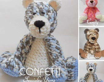 Crochet Teddy Bear SUPER SUPER SOFT