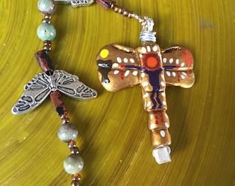 Green Jasper Catholic Rosary 5-Decade