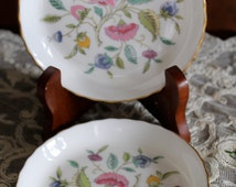 Minton Bone China/Vintage Butter Pats/Vintage Minton China England/Vintage Bone China Table Setting/Vintage Bone China Butter Pats