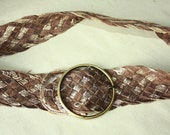 S A L E Woven Vintage Belt -  ... a Fashionista Statement Piece can fit for Size S and M and L