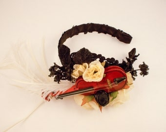 Last Melody Violin Hair Accessory