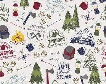 Modern Scout, OffWhite, Riley Blake Designs, 1/2 Yard