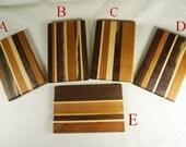 Wood Cutting Board, Cheeseboard, Sandwich board, Small Serving Tray or Bread Board