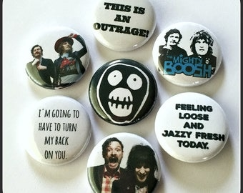 "Mighty Boosh - 1"" Button Choose Your Own"