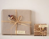 Gift Wrap My Order - All Occasion Gift Wrap - Gift Wrap Add on - Extra Special Gift Wrapping - Woodland Christmas Gift Wrap