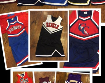 Customized Cheerleading Uniform ~ Youth and Adult Sizes ~ Can do any school or team.  READ LISTING for details