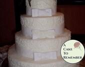 Gumpaste Bows For Cake Decorating, DIY weddings, wedding cakes