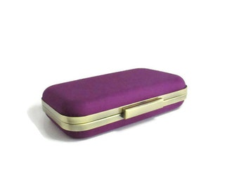 gifts for bridesmaid, winter weddings, purple weddings, bridesmaids gifts, clutches, eggplant purple, evening clutches, purple clutches