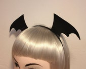 Gothic Bat Wing Headband - Halloween