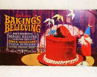 Betty Crocker's, Baking's Believing Cook Booklet 1963, Vintage Cookbook