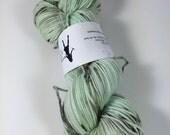 HauteKnitYarn, Sport Socks, 100 grams, Minty Chunk, Hand Dyed Yarn, Superwash merino, Sport, variegated yarn
