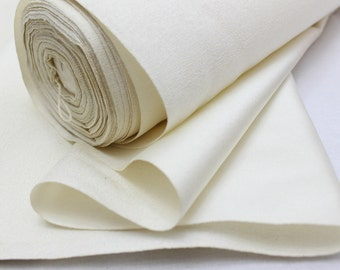 Undyed Silk Bolt. Natural Fabric. Japanese Vintage Kimono Silk (Ref: 111)