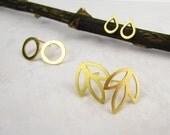 Delicate Gold Earrings
