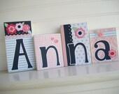 Baby Name Blocks . Boutique Name Blocks . M2M Rocking Horse Bedding. Nursery Decor . Personalized Letter Blocks . Wood Name Blocks .