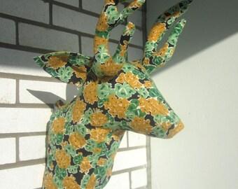 Sewing Pattern Wall Mounted Deer Head Sewing Pattern PDF