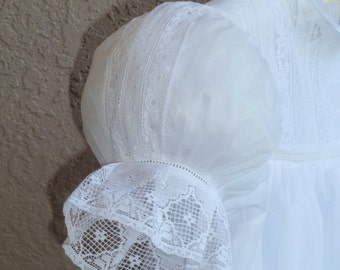 2 1/4 White Lace Edging