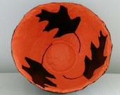 Papier Mache Bowl Folk Art