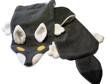 Wolf Fleece Scarf