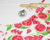 Watermelon Slices Adult Apron